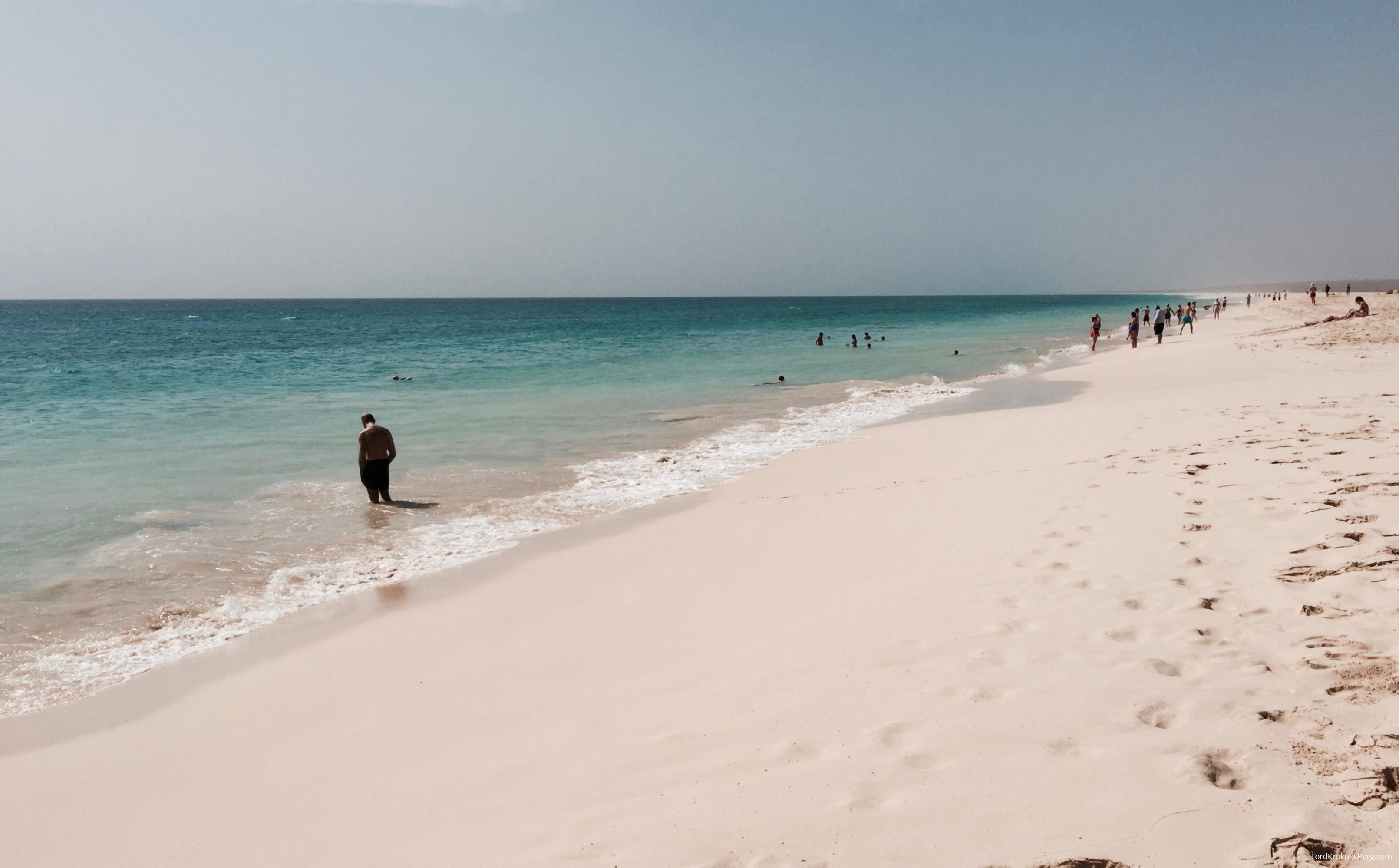 Hotel RIU Touareg Cape Verde strand