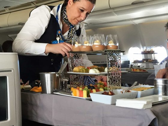 Turkish Airlines Business Class interkontinentalt