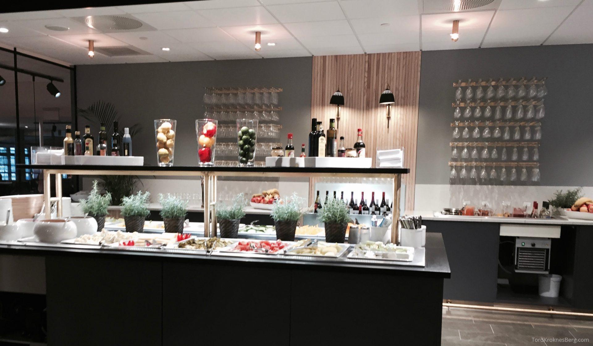 SAS Gold Lounge Oslo