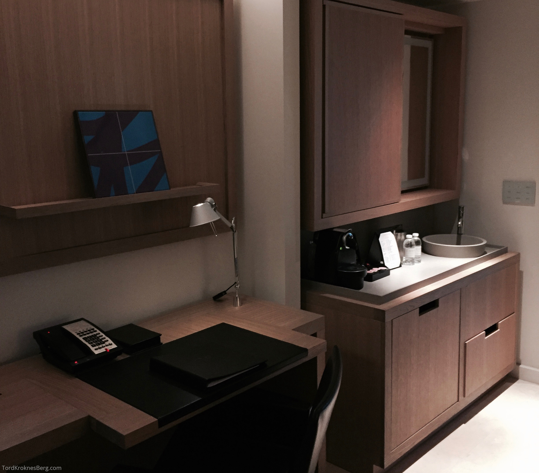 Conrad New York Hotellrom