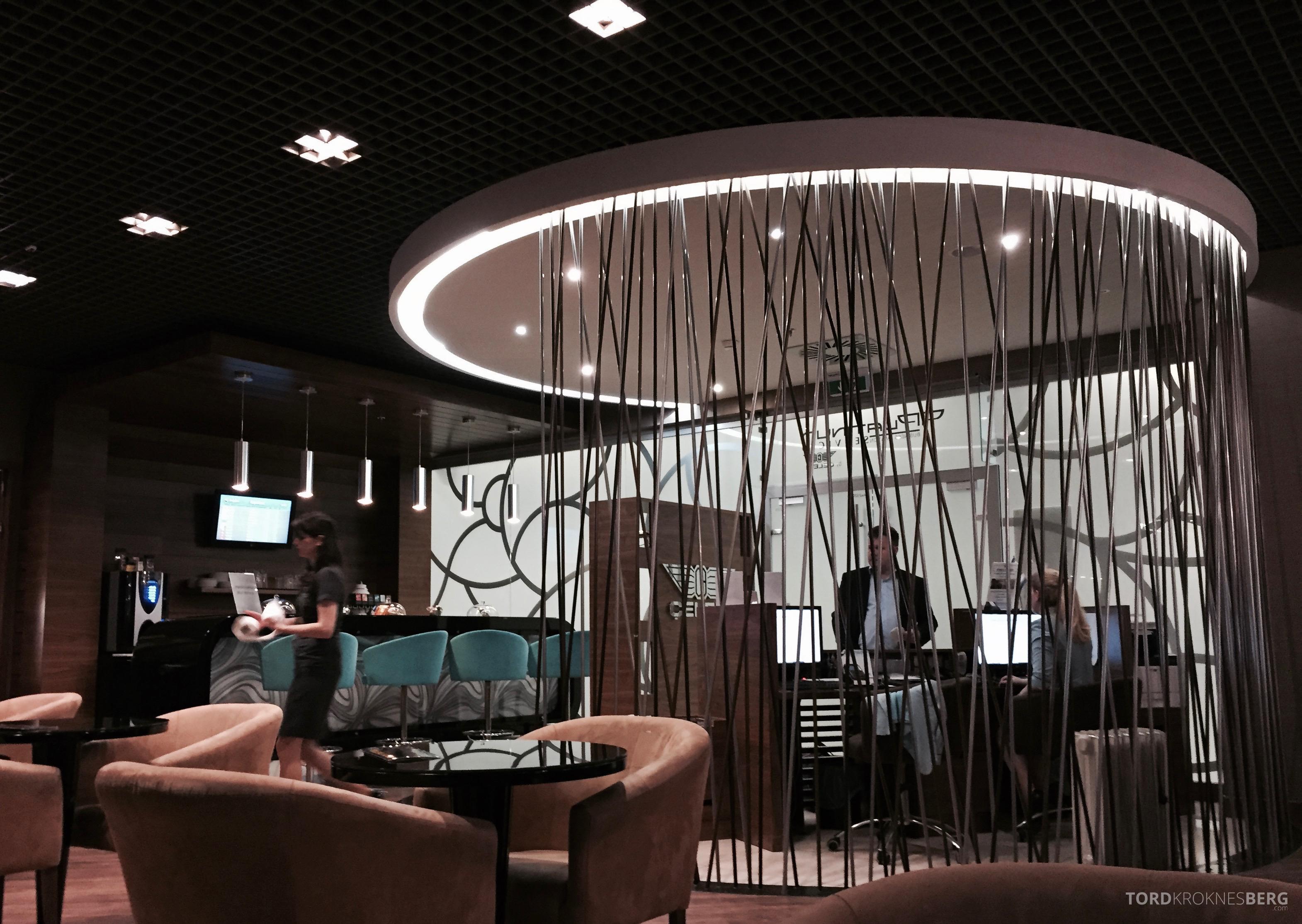Lufthansa Lounge Budapest entrance