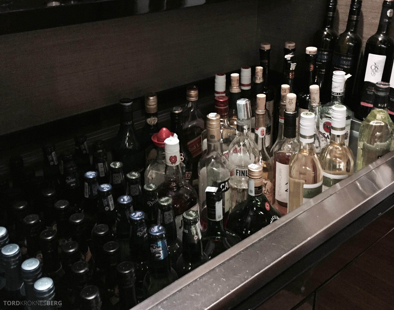 Lufthansa Lounge Budapest drinks