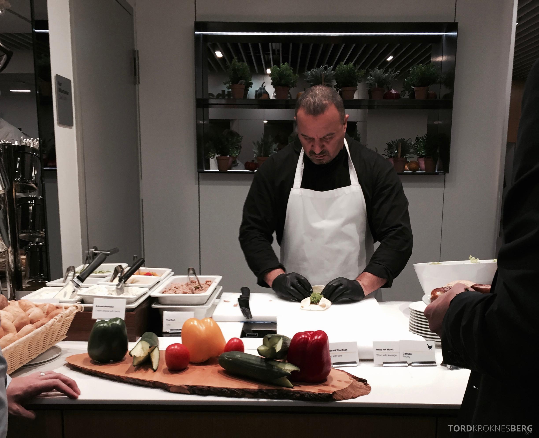 Lufthansa Senator Lounge Frankfurt chef