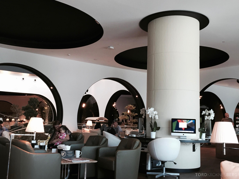 Turkish Airlines Istanbul Ataturk Lounge bilde