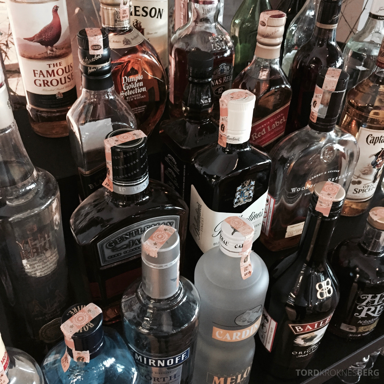 Turkish Airlines Istanbul Ataturk Lounge alkohol