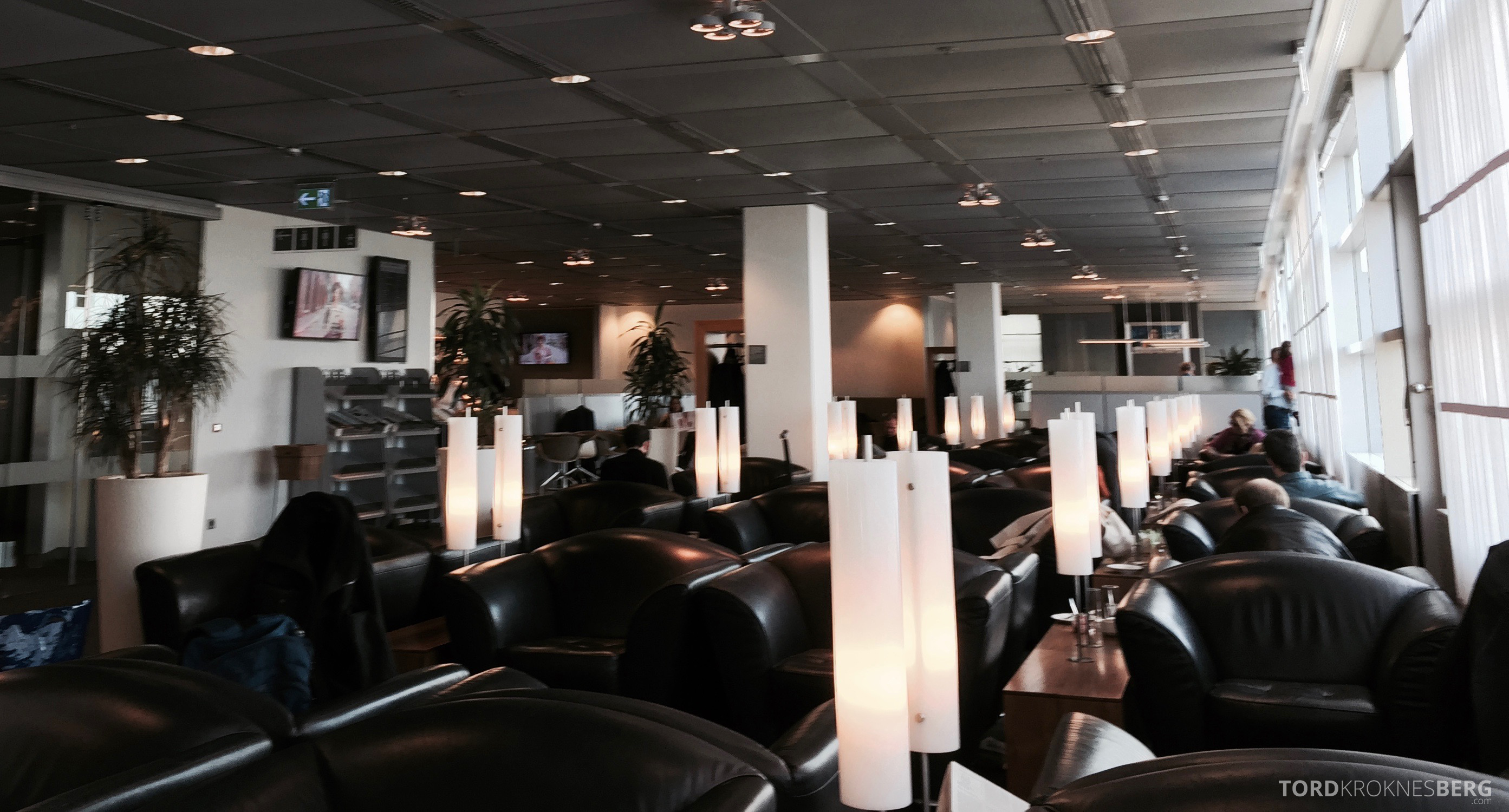 Lufthansa Senator Lounge Hamburg oversikt