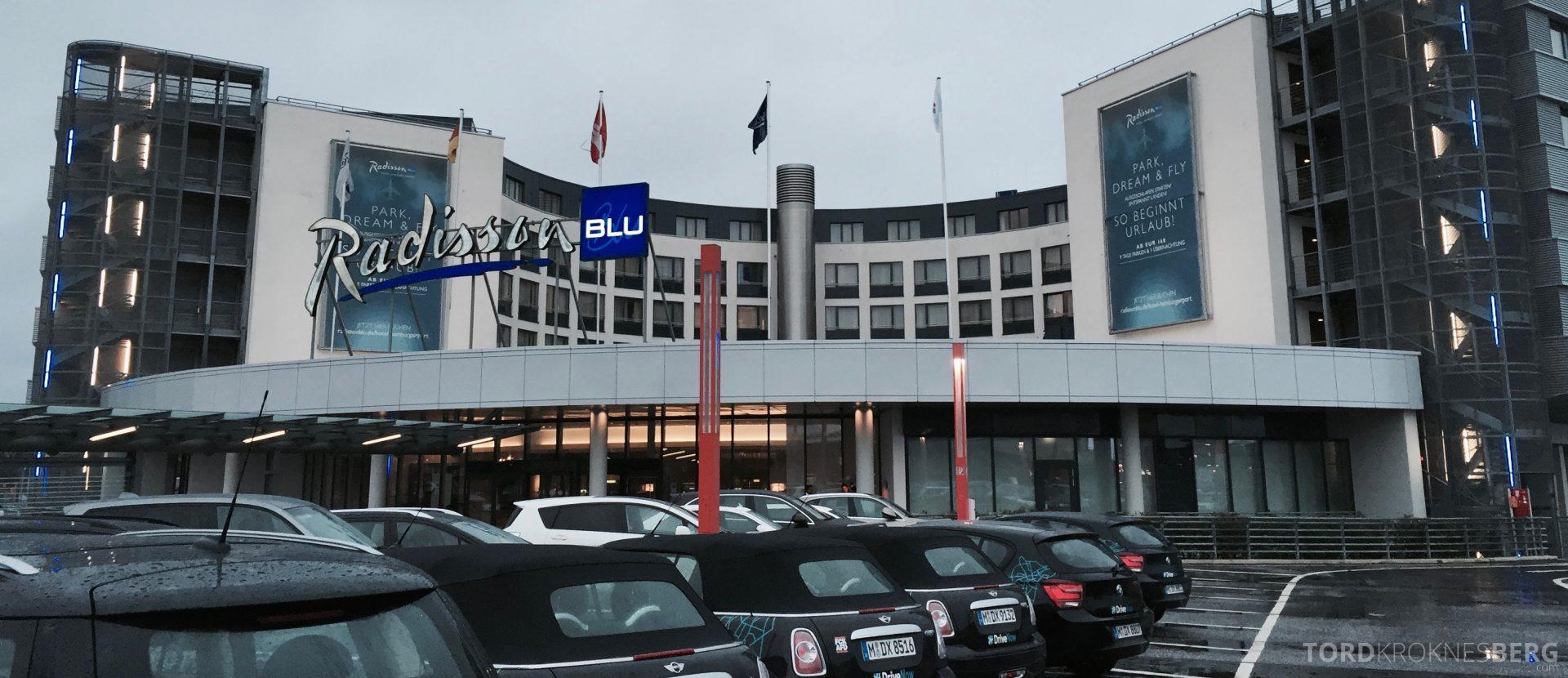 Radisson Blu Hamburg Airport utenfor