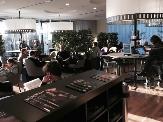 SAS Lounge New York oversikt