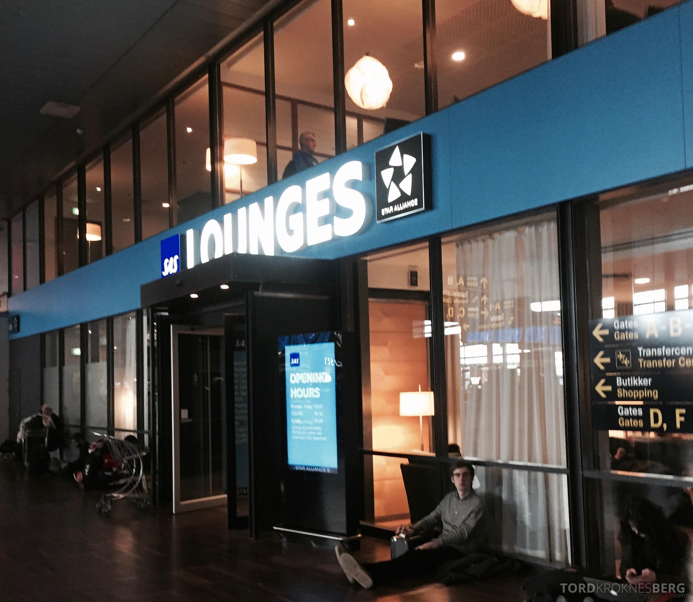 SAS Plus til Genève København lounge