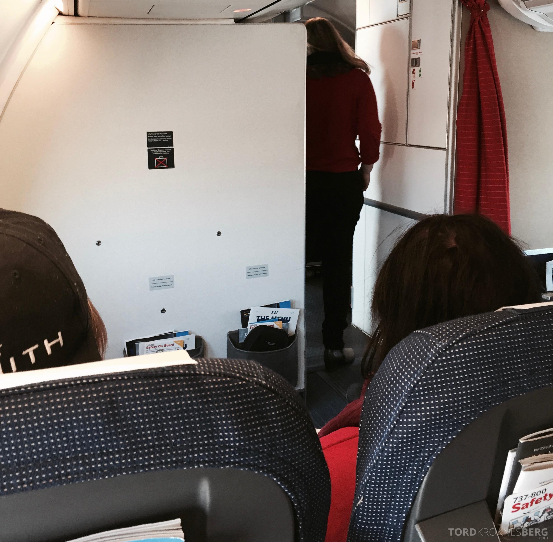 SAS Plus til Genève kabin 2
