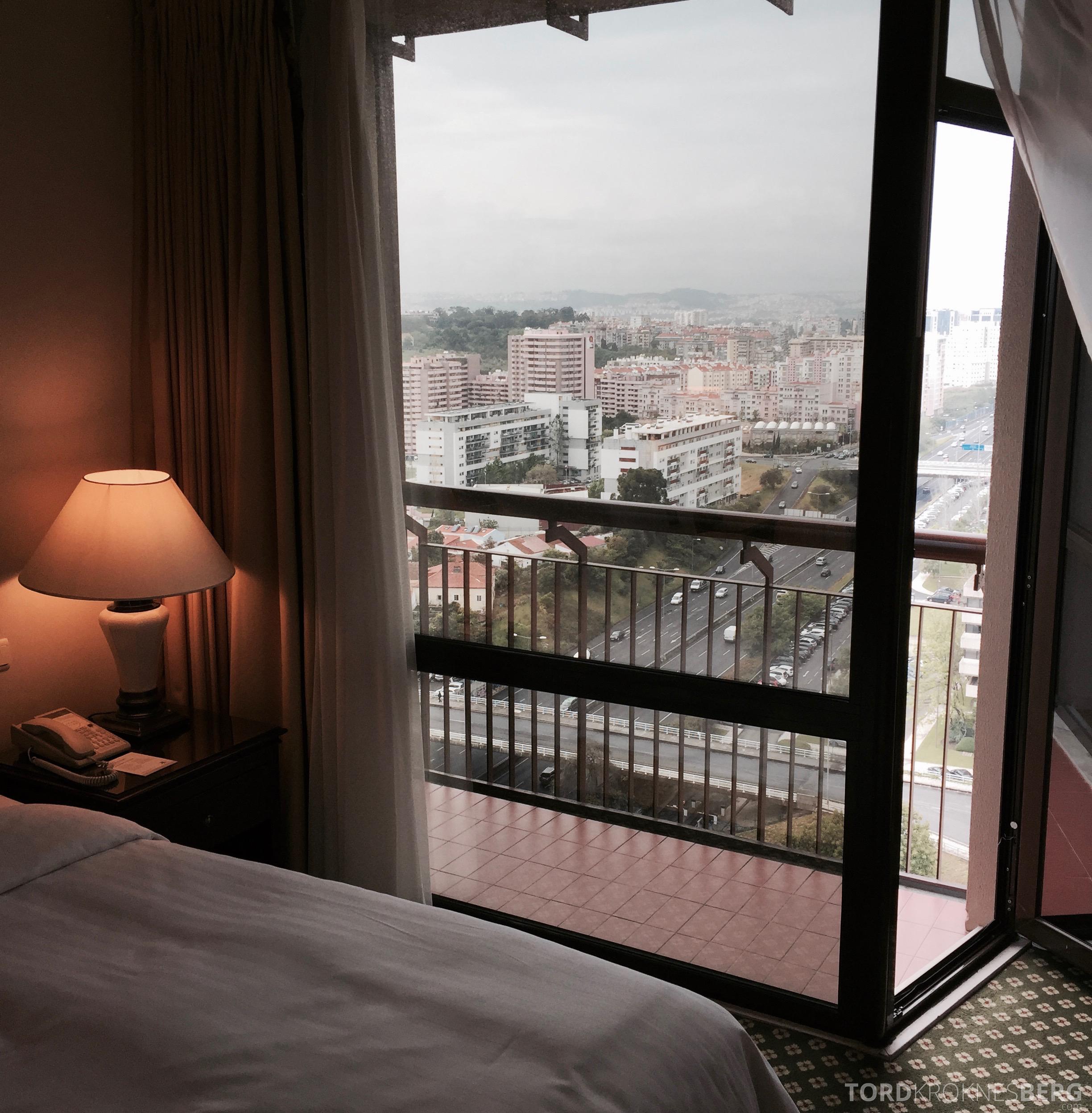 Marriott Lisbon Hotel utsikt