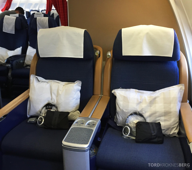 SAS Business Class gammel kabin seter