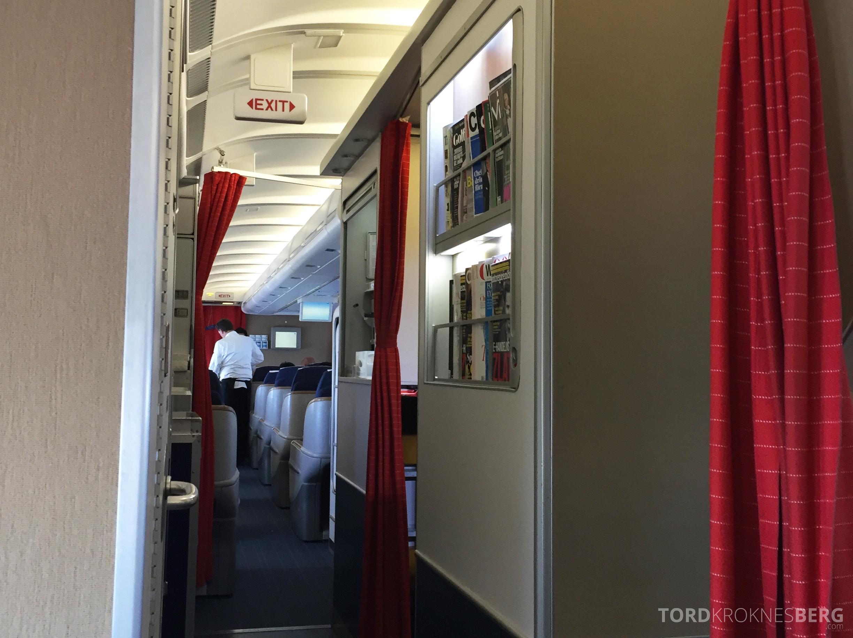 SAS Business Class gammel kabin