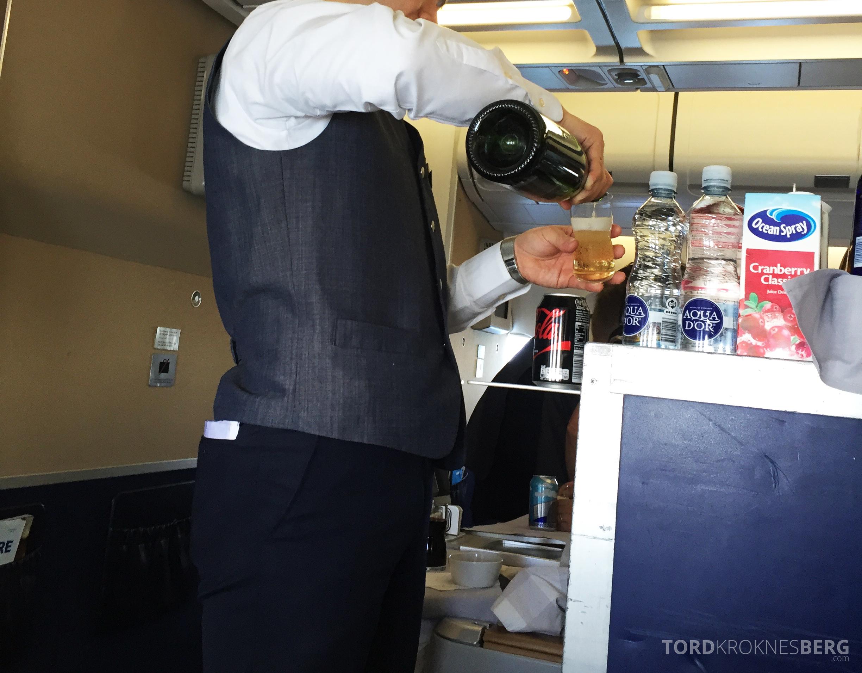 SAS Business Class gammel kabin tralle