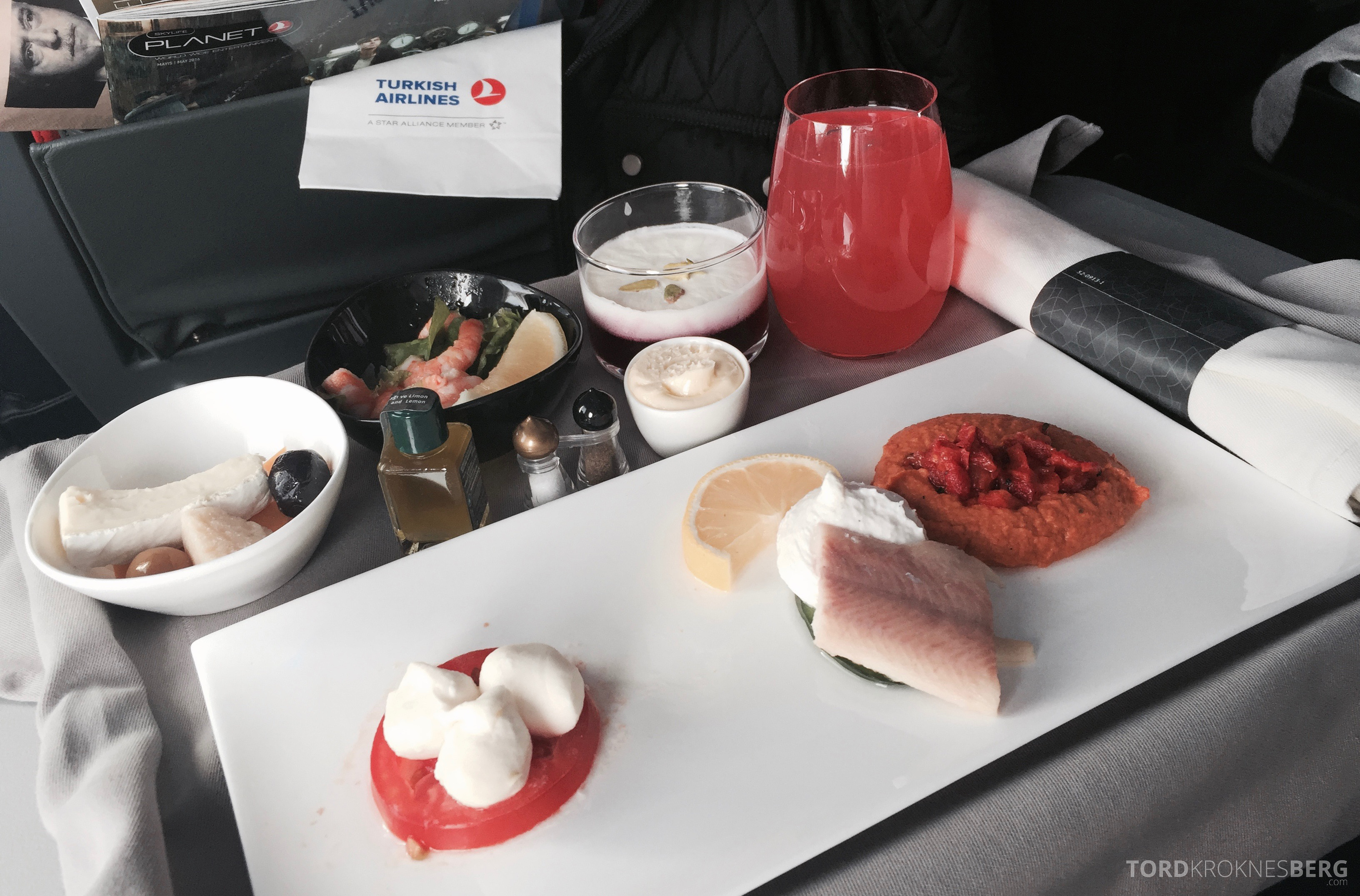 Turkish Airlines Business Class Europa Lisboa Istanbul mat