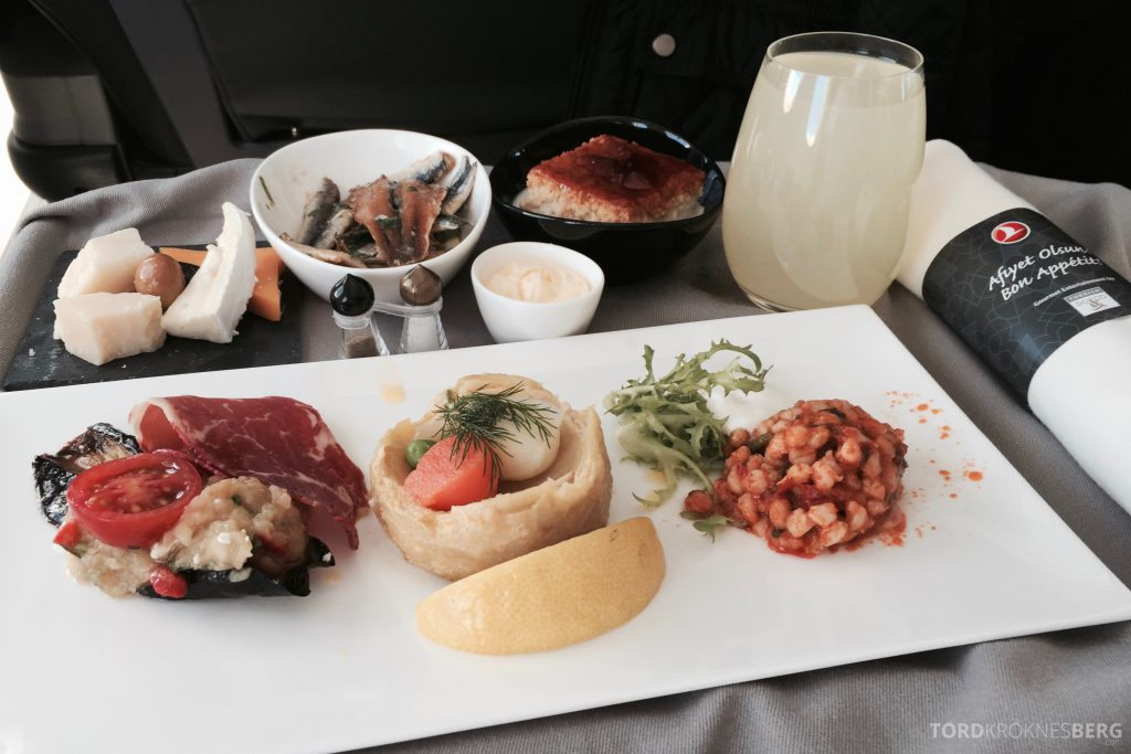Turkish Airlines Business Class Europa mat