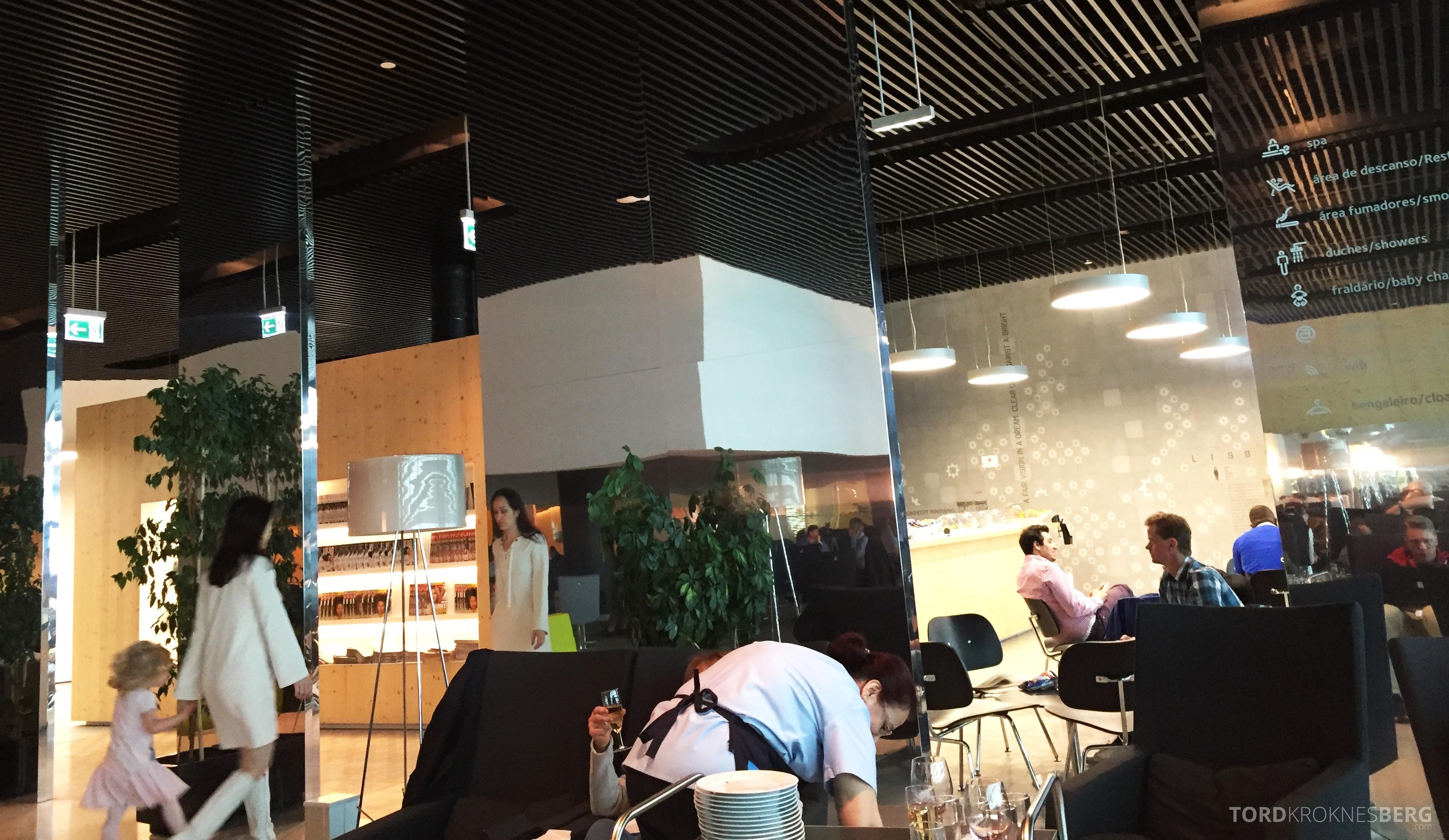 ANA Lounge Lisboa utsikt