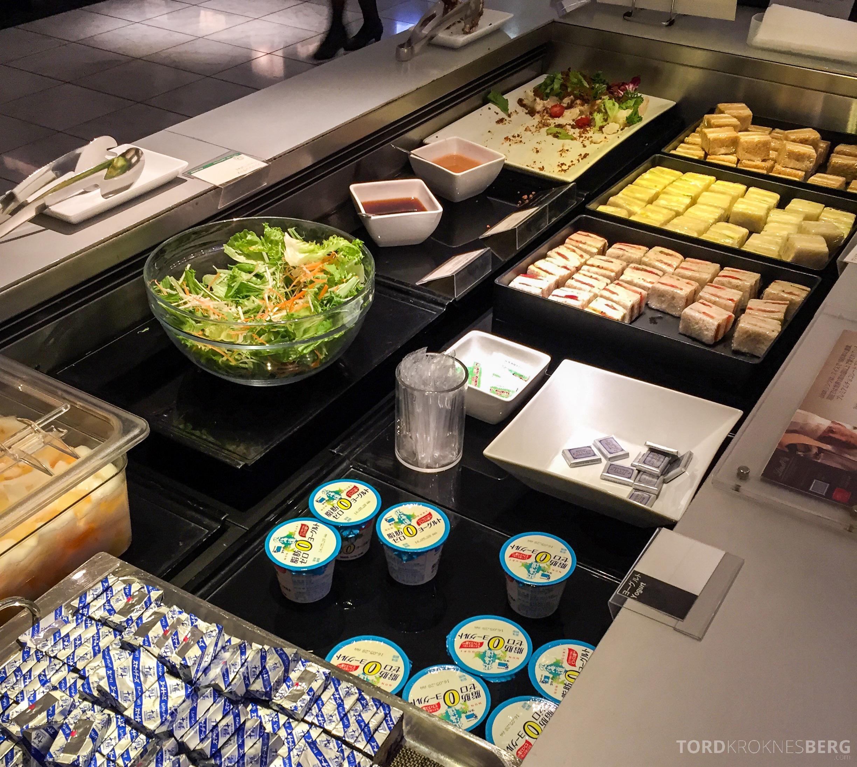 ANA Lounge Tokyo Narita mat