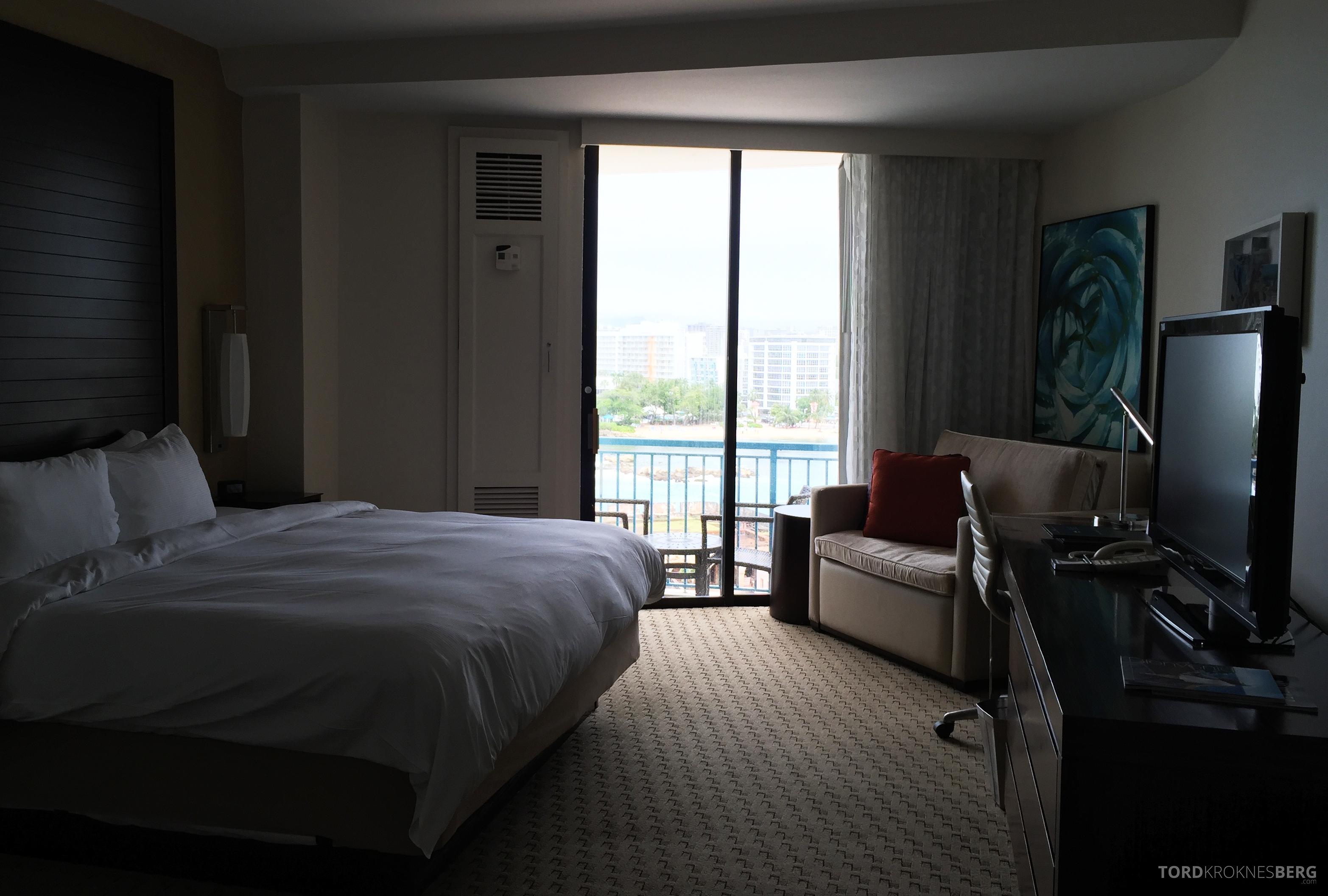 Caribe Hilton ocean view suite