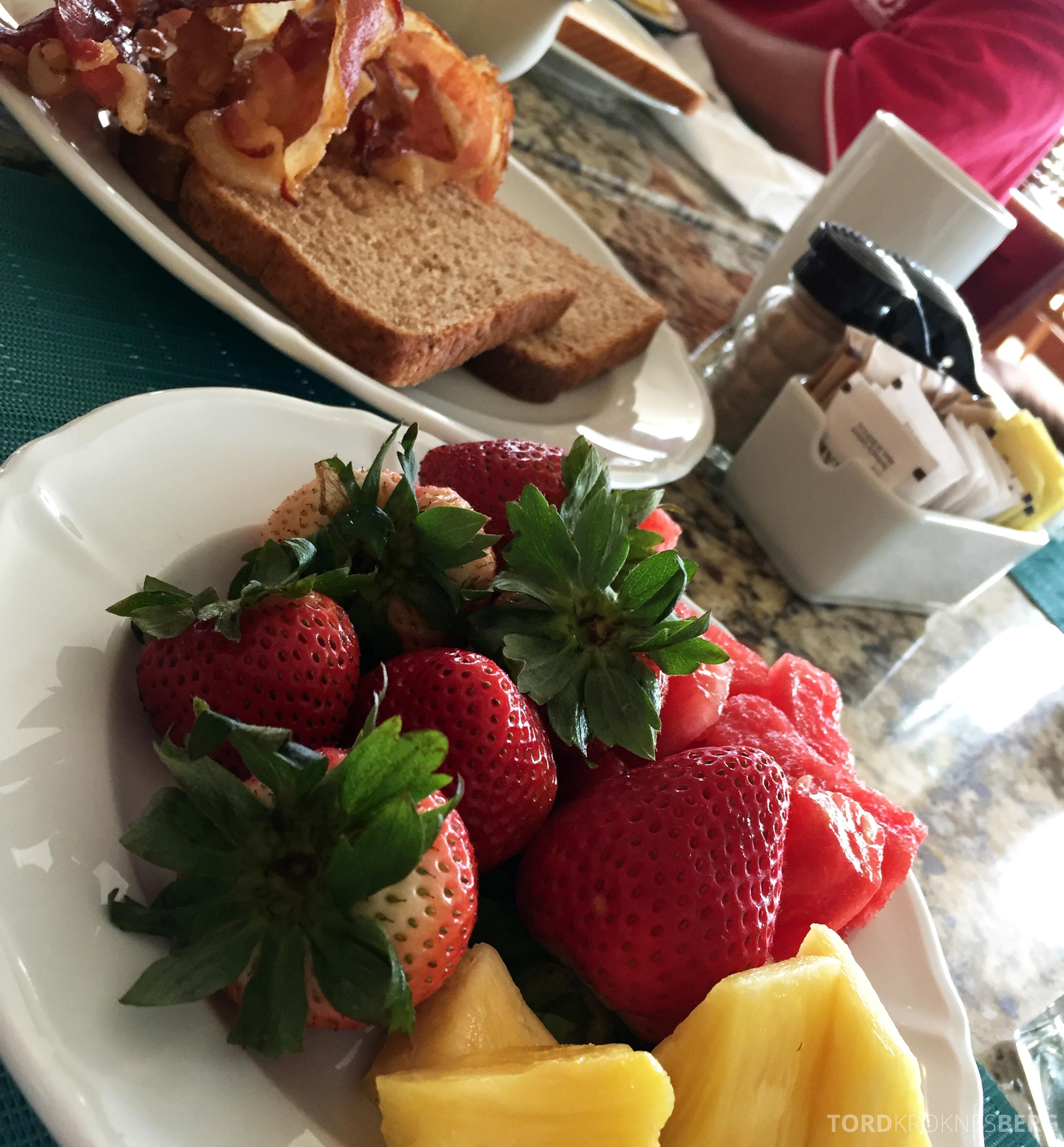 Caribe Hilton frokost