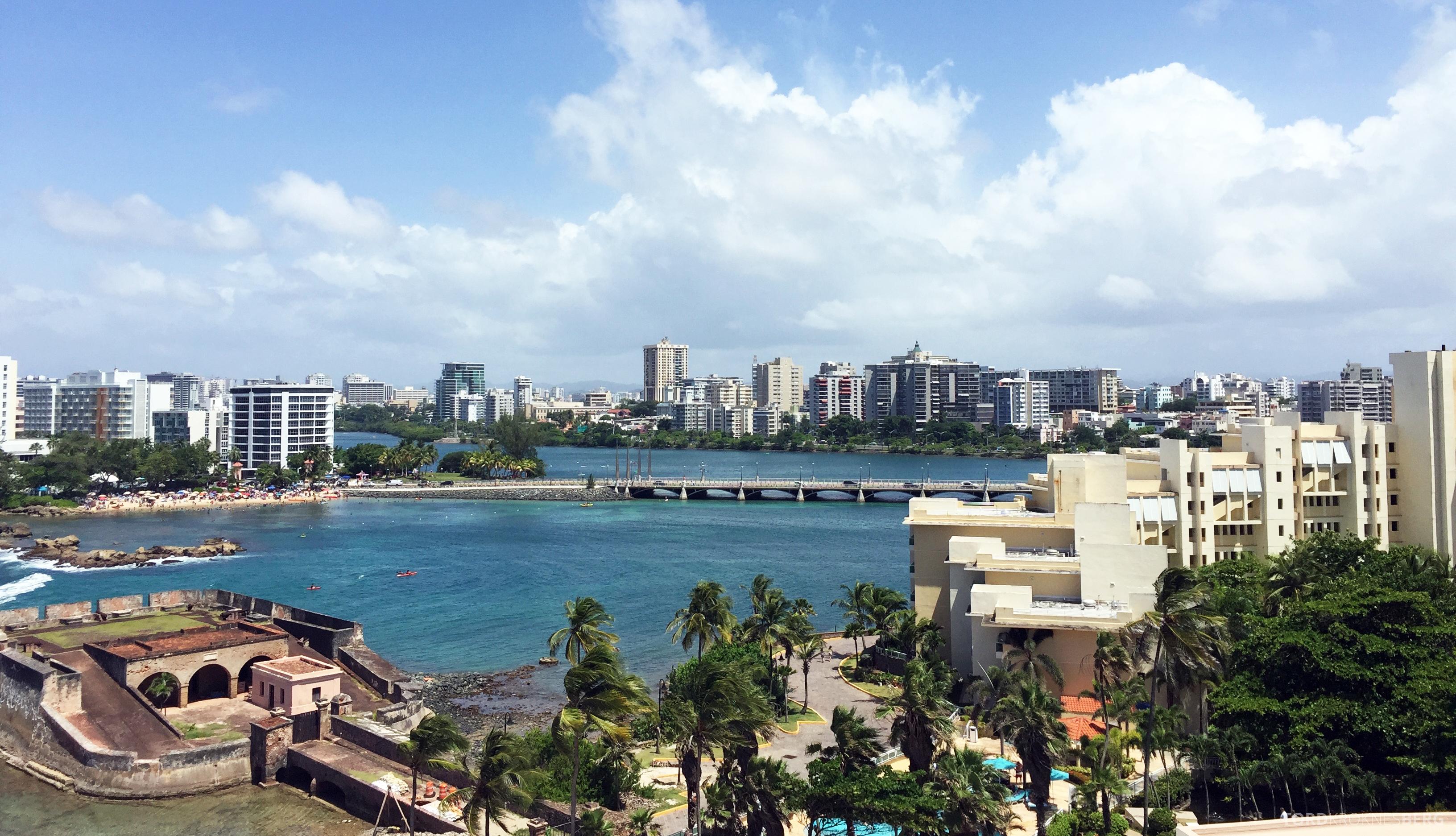 Caribe Hilton utsikt fra suite