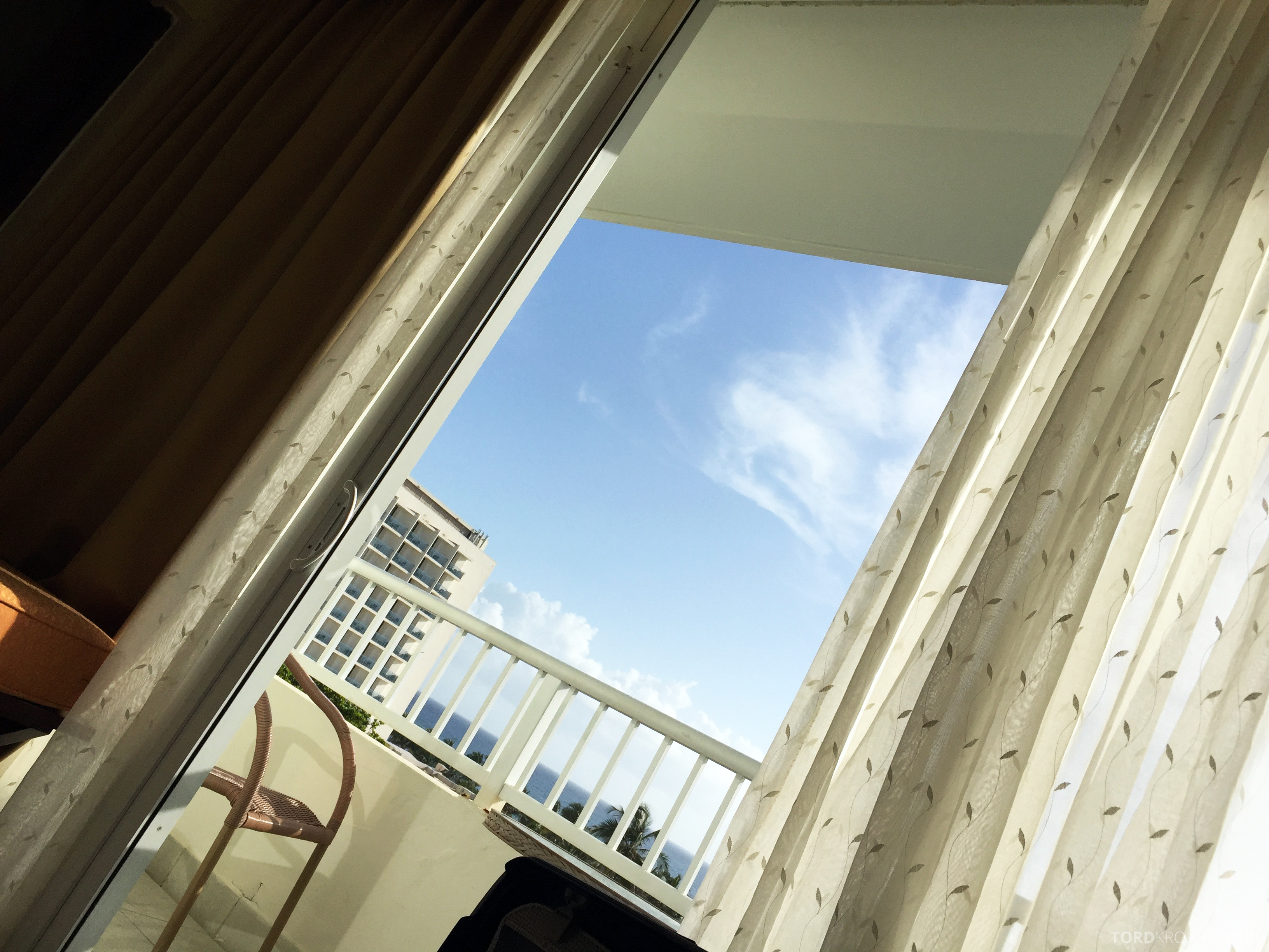 Caribe Hilton Garden Wing suite utsikt