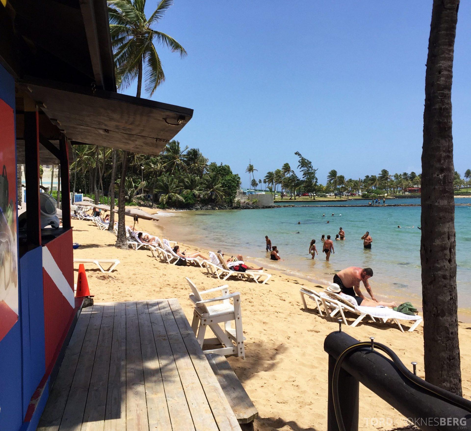 Caribe Hilton strand