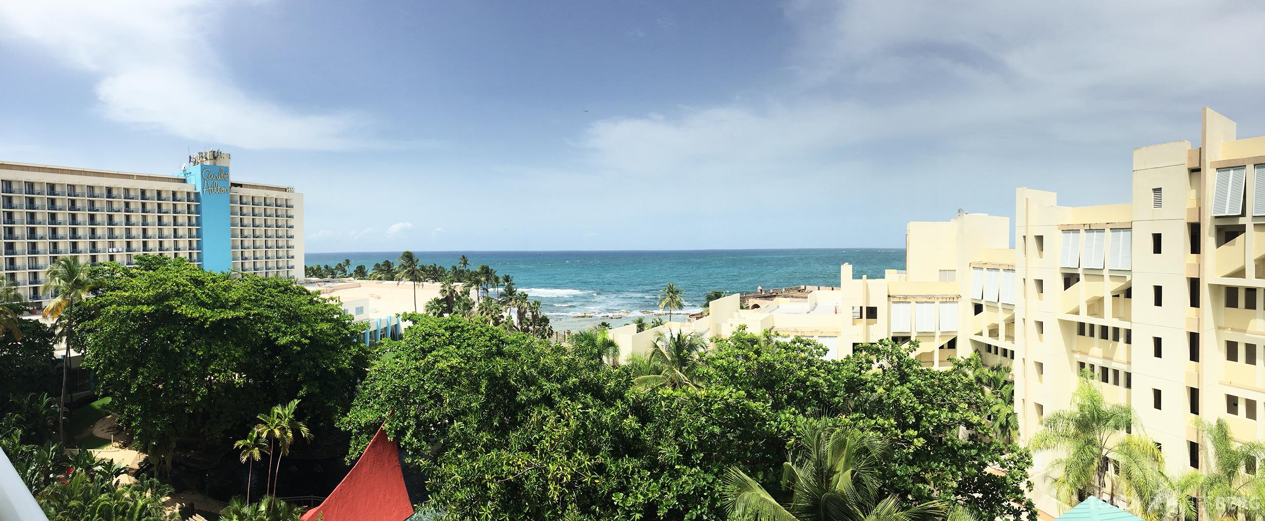 Caribe Hilton utsikt fra Garden Wing