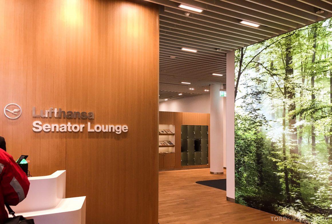 Lufthansa Senator Lounge München resepsjon