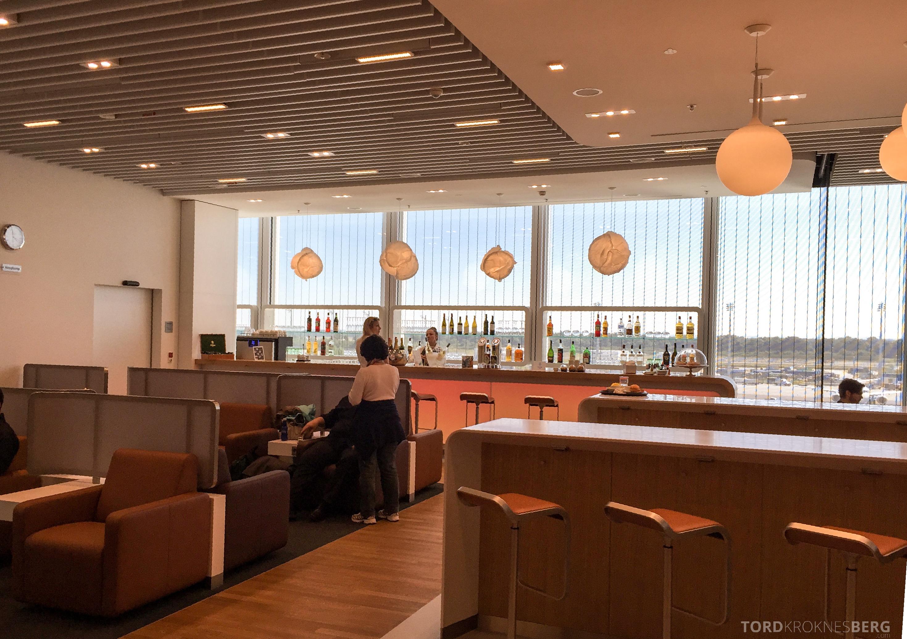 Lufthansa Senator Lounge München utsikt