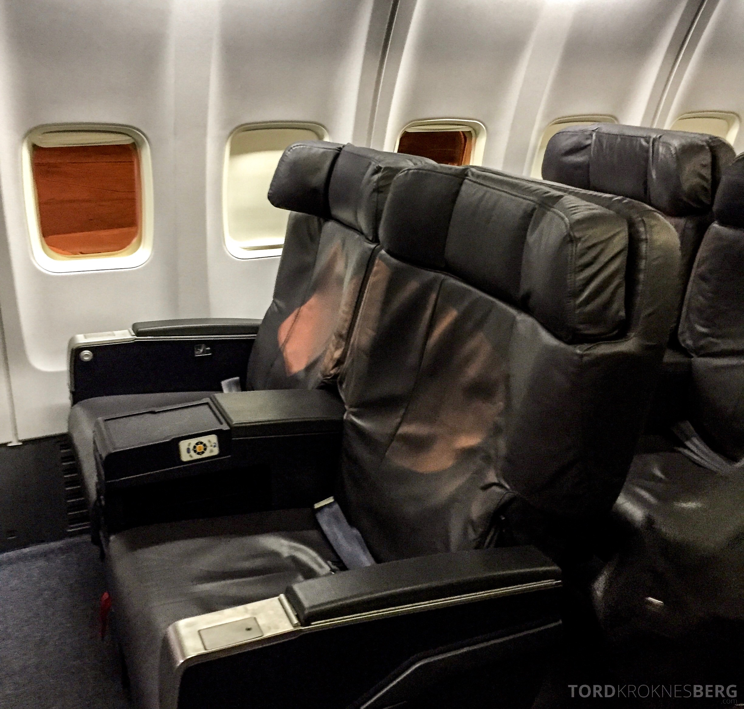 United Airlines Business Class sete