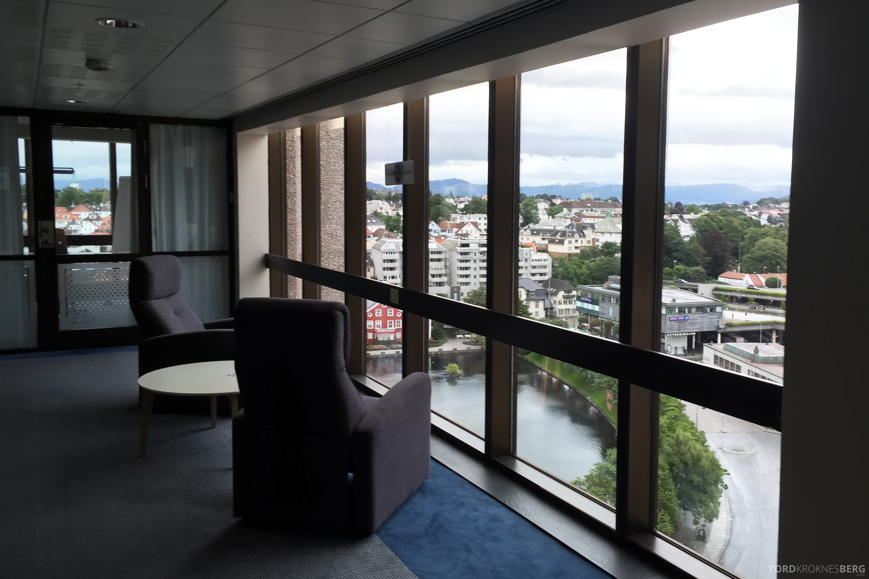 Radisson Blu Atlantic Stavanger business class floor