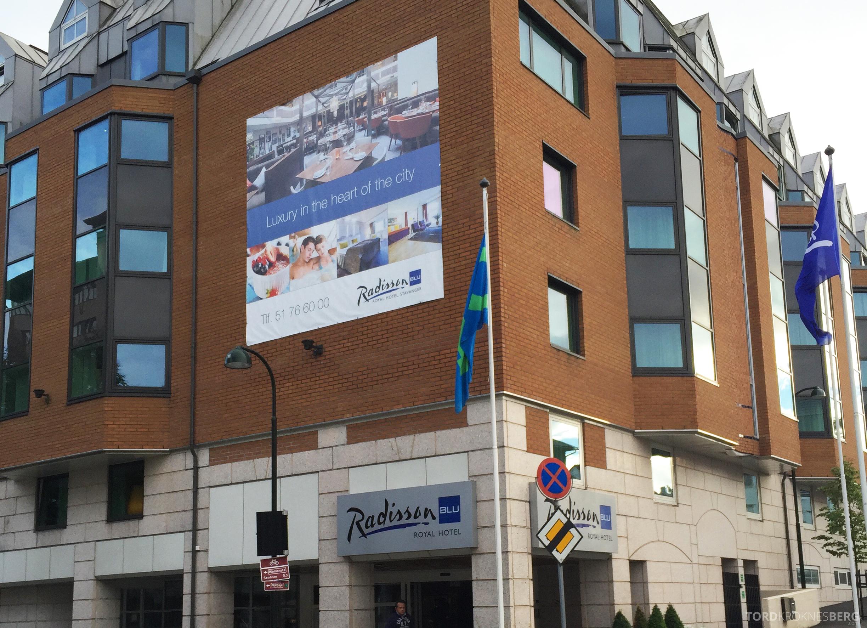 Radisson Blu Royal Stavanger fasade