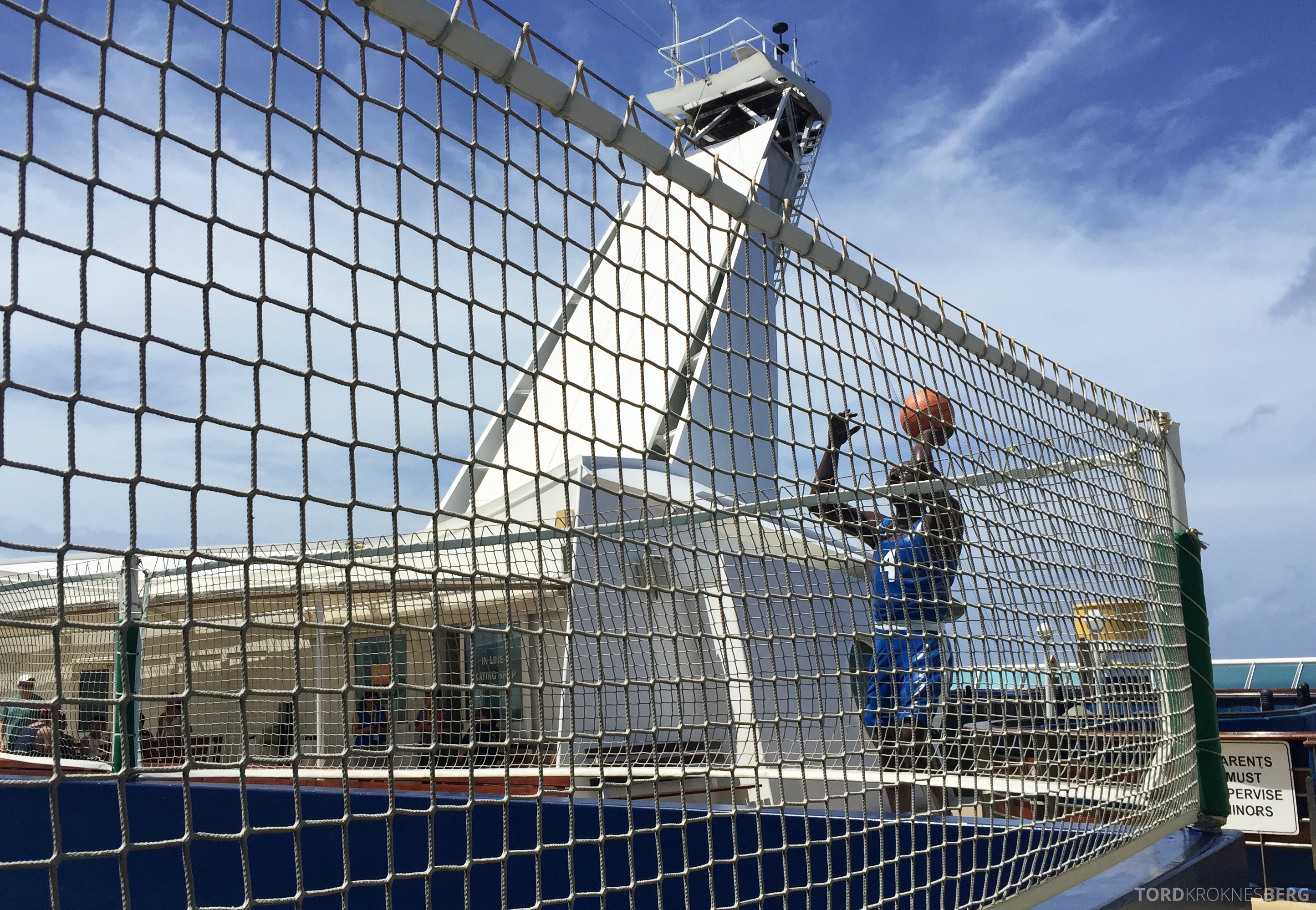 Royal Caribbean Adventure of the Seas basketball