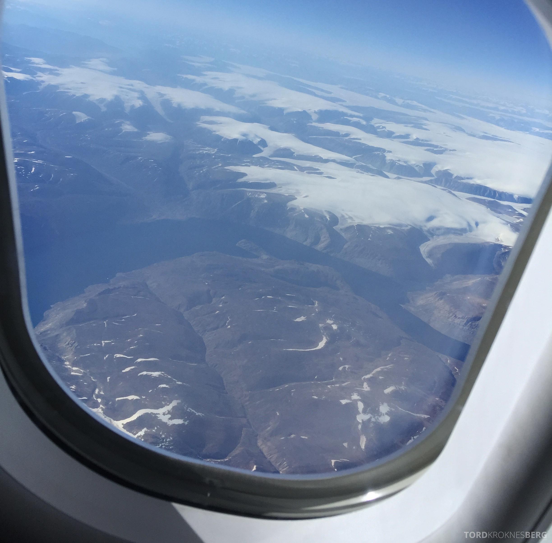 SAS Business Class fra Stockholm til Los Angeles Grønland
