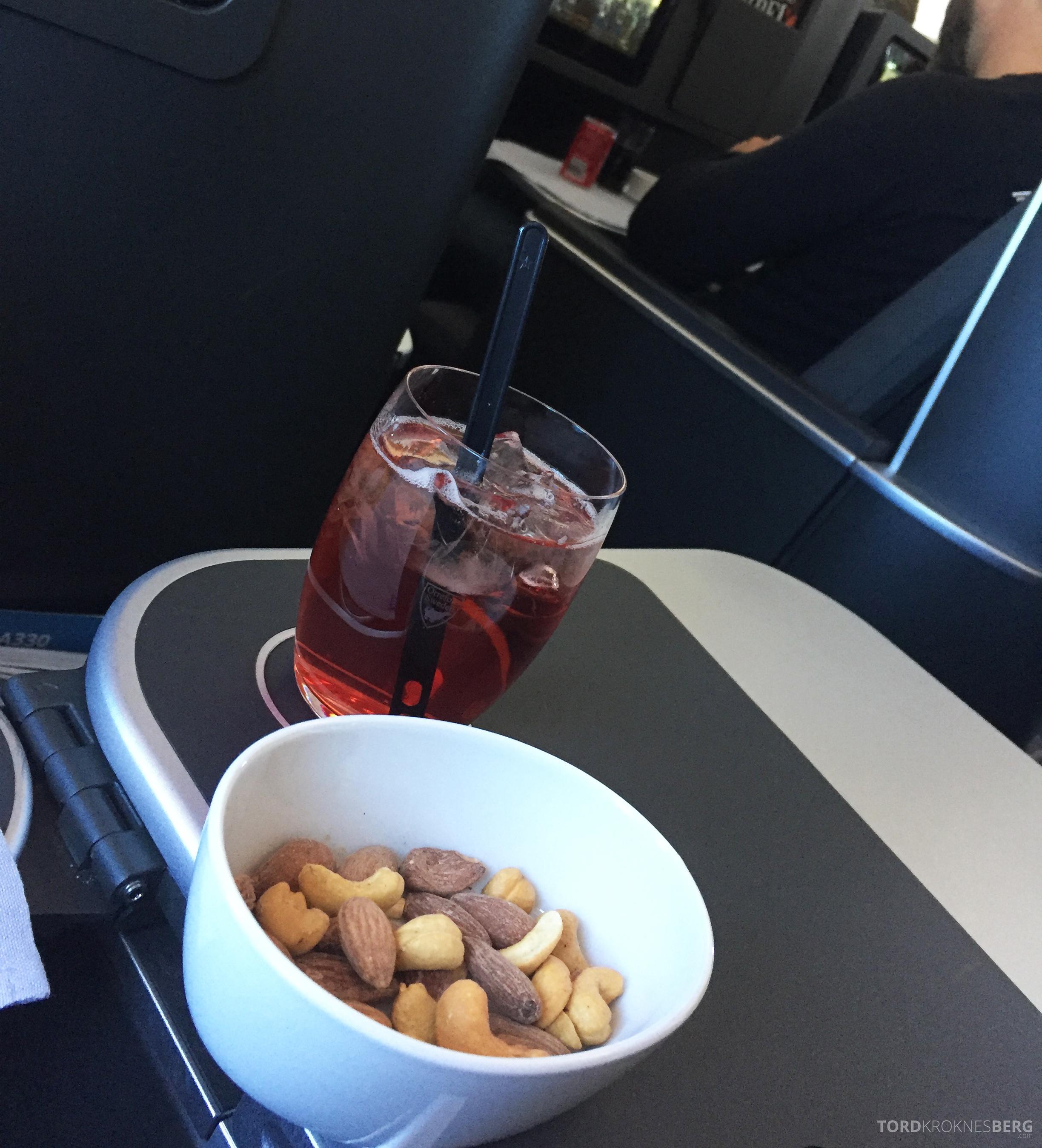 SAS Business Class fra Stockholm til Los Angeles varme nøtter