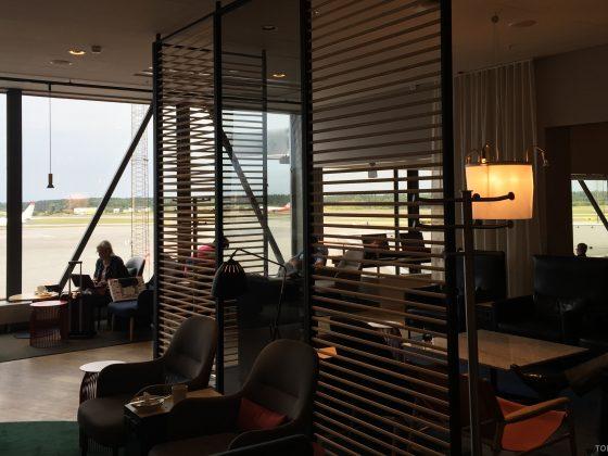 SAS Gold Lounge Stockholm omgivelser