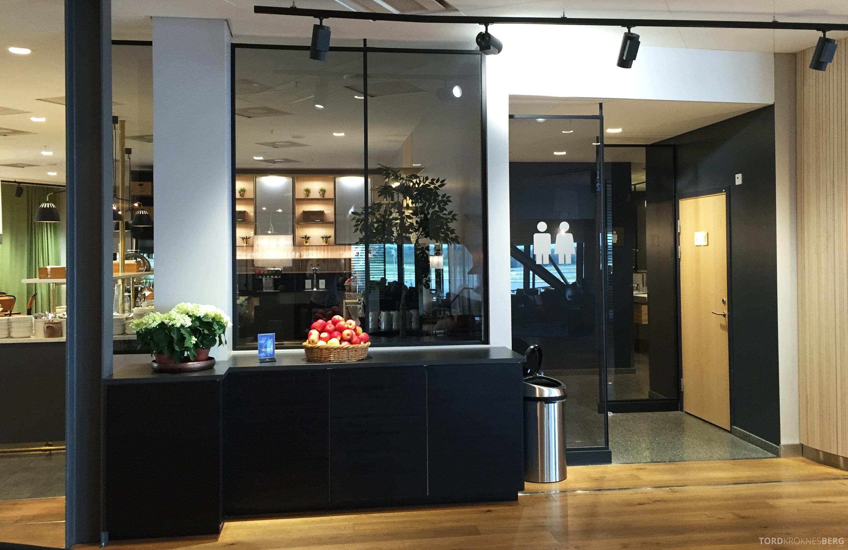 SAS Gold Lounge Stockholm toaletter