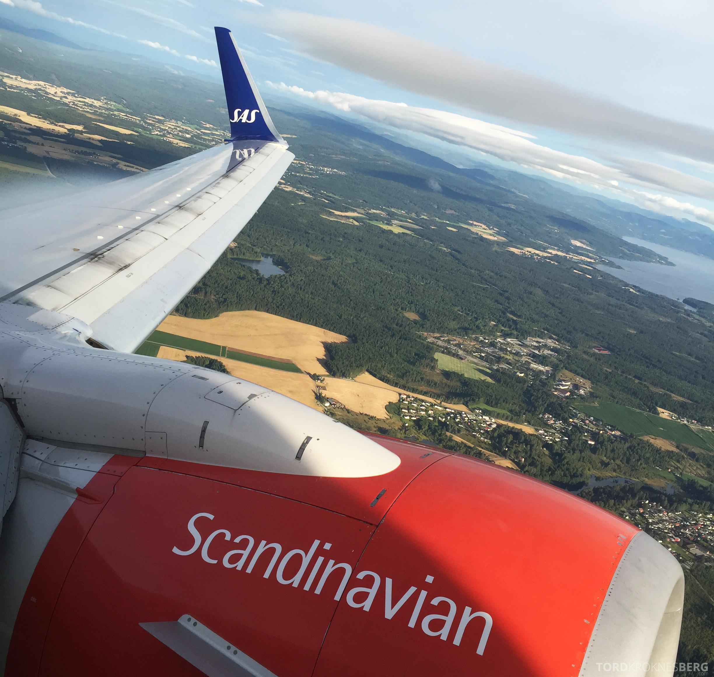 SAS Plus Oslo Stockholm utsikt