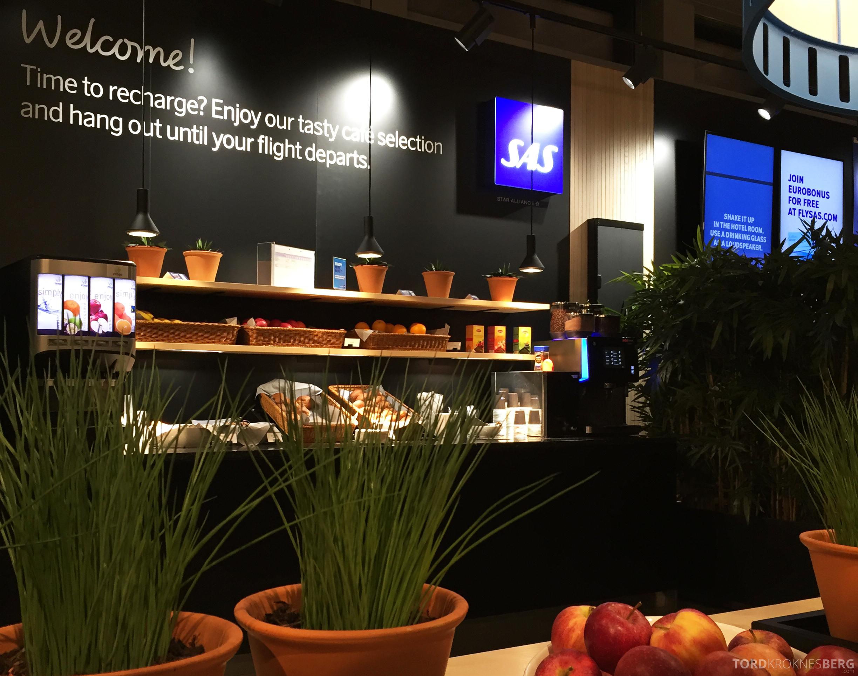 SAS Plus Trondheim Oslo Café Lounge