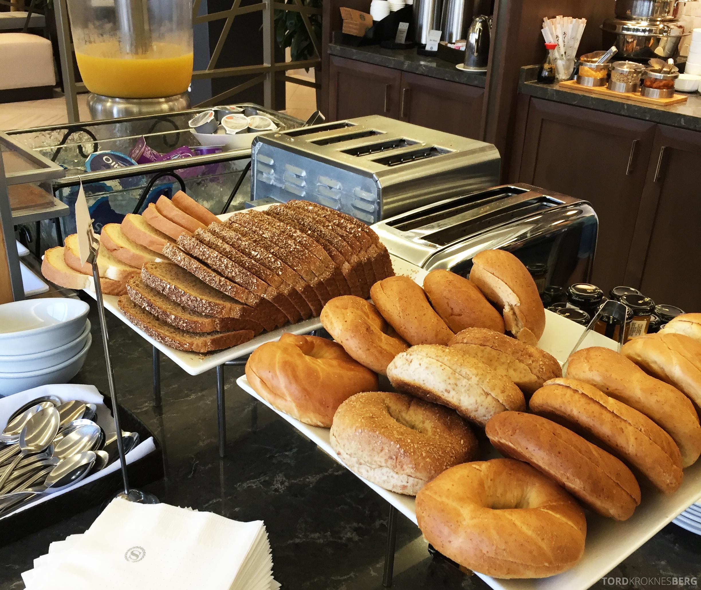 Sheraton Gateway LAX frokost