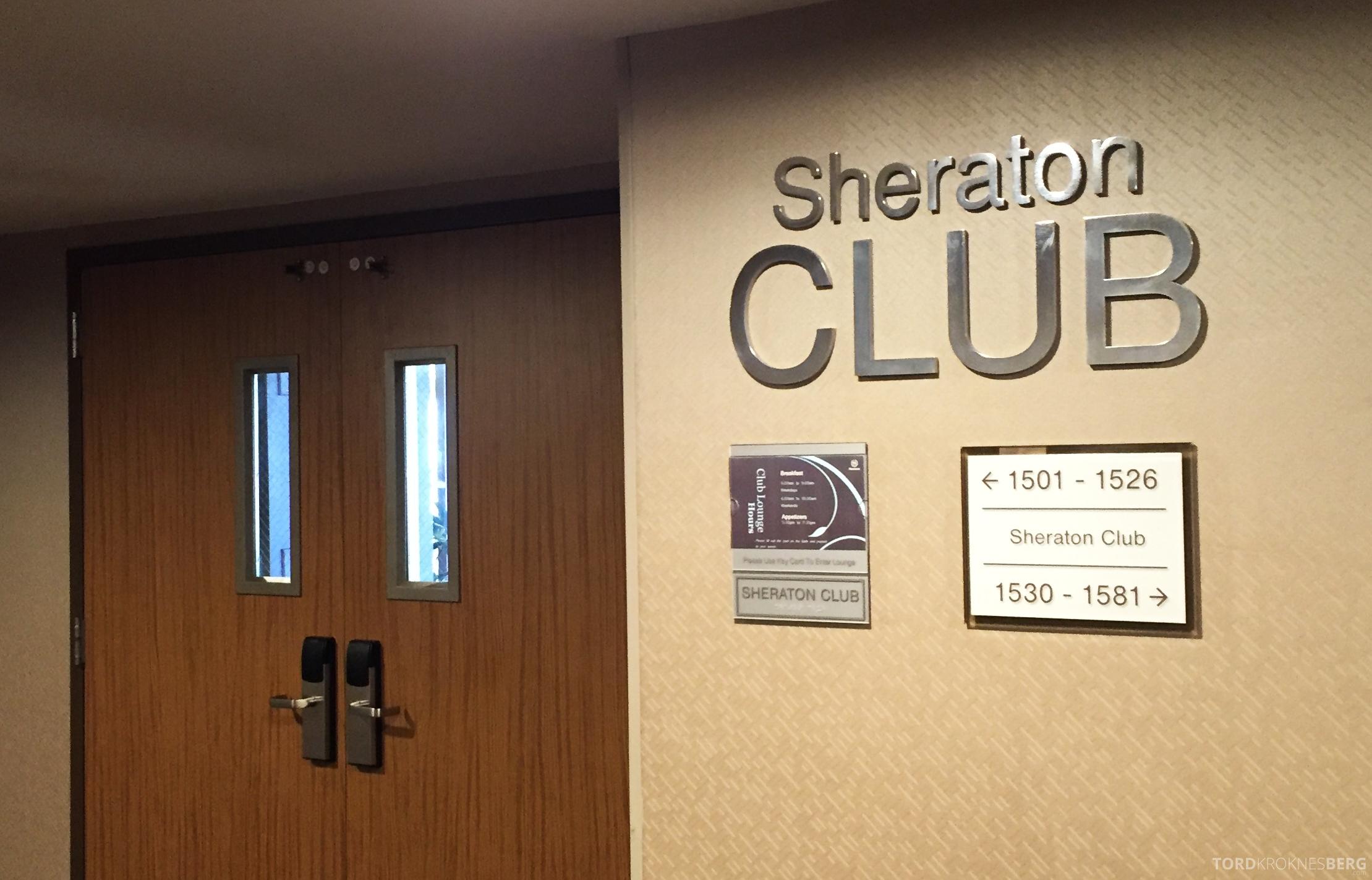 Sheraton Gateway LAX club lounge