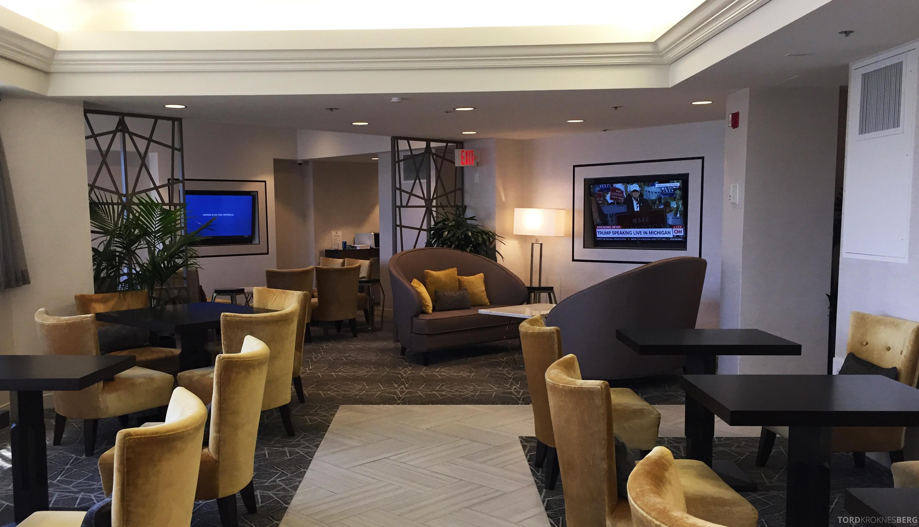 Sheraton Gateway LAX lounge