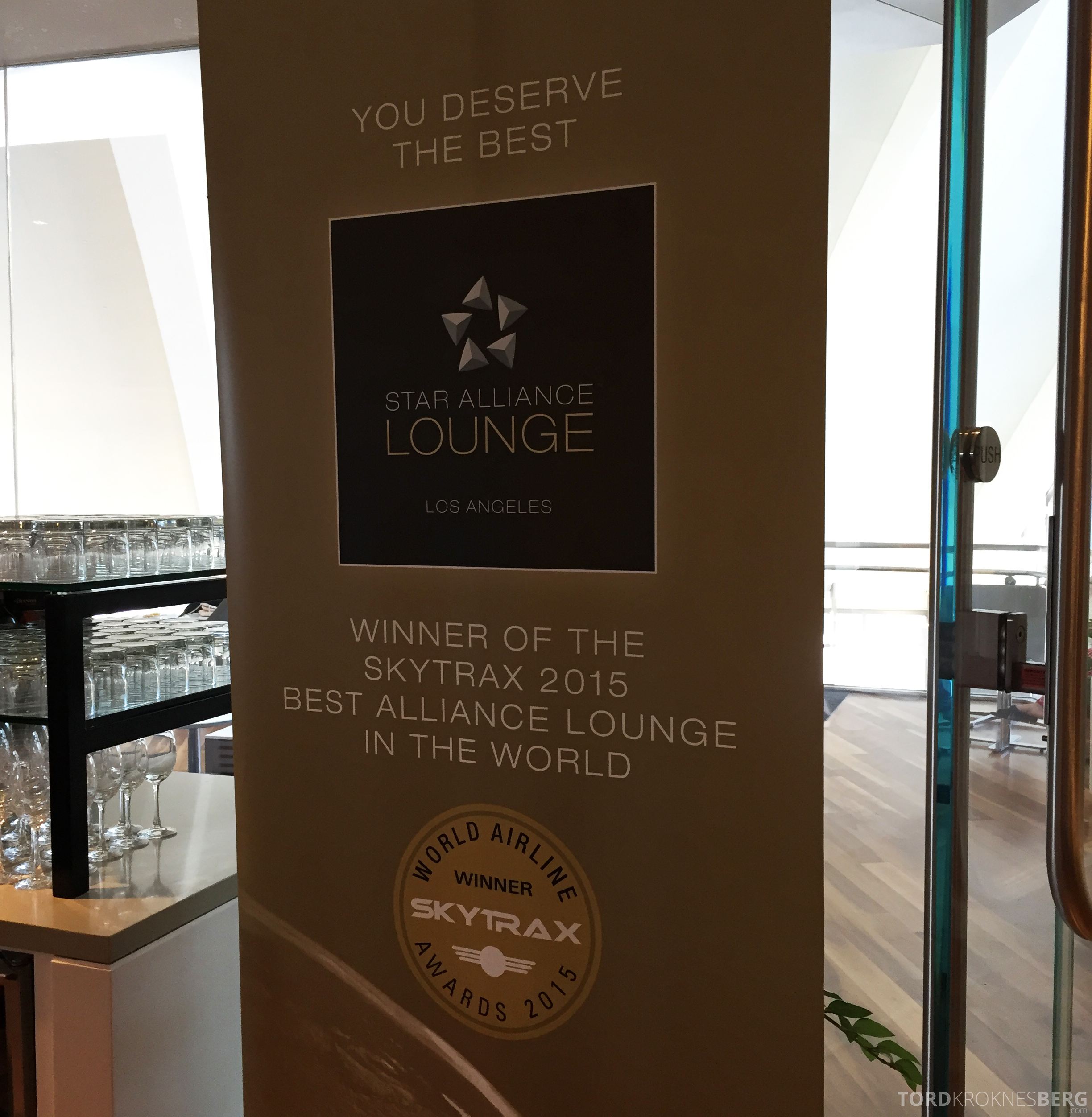 Star Alliance Gold Lounge LAX skytrax