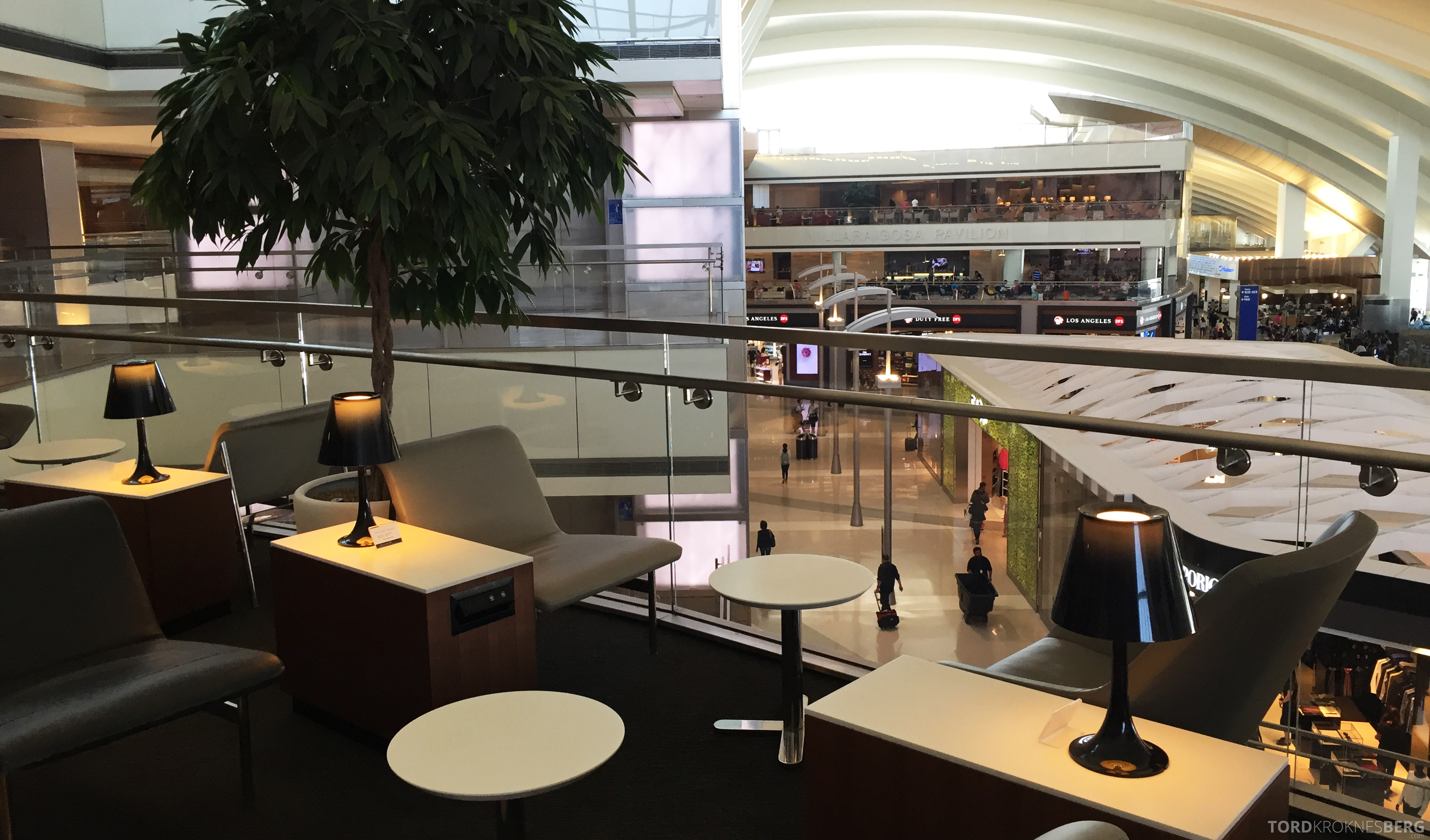 Star Alliance Gold Lounge LAX butikker