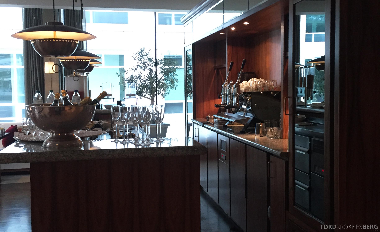 Hilton Amsterdam champagne frokost