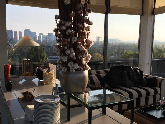 Hilton Amsterdam Executive Lounge detaljer