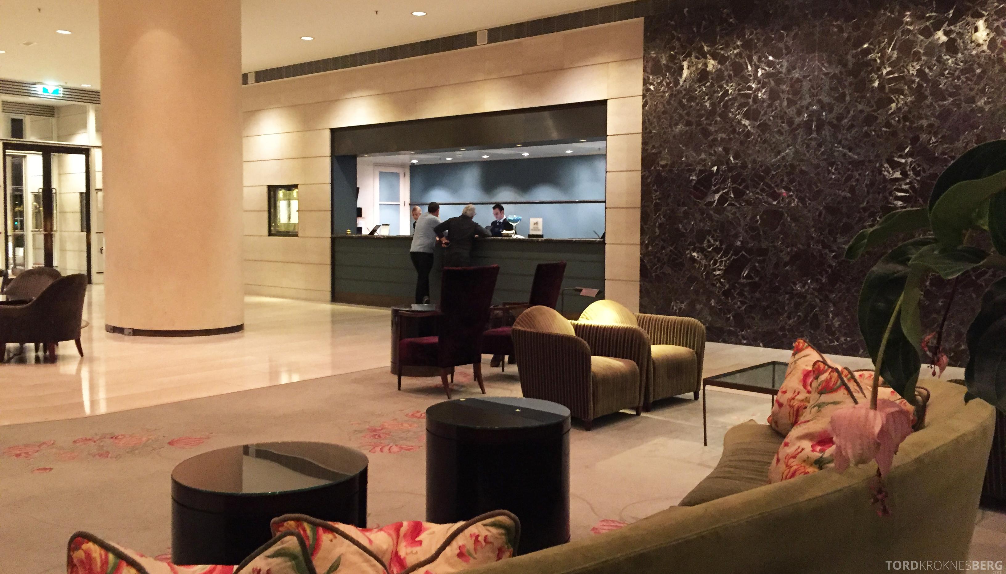 Hilton Amsterdam resepsjon