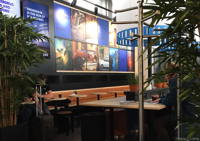 SAS Café Lounge Trondheim sitteplasser