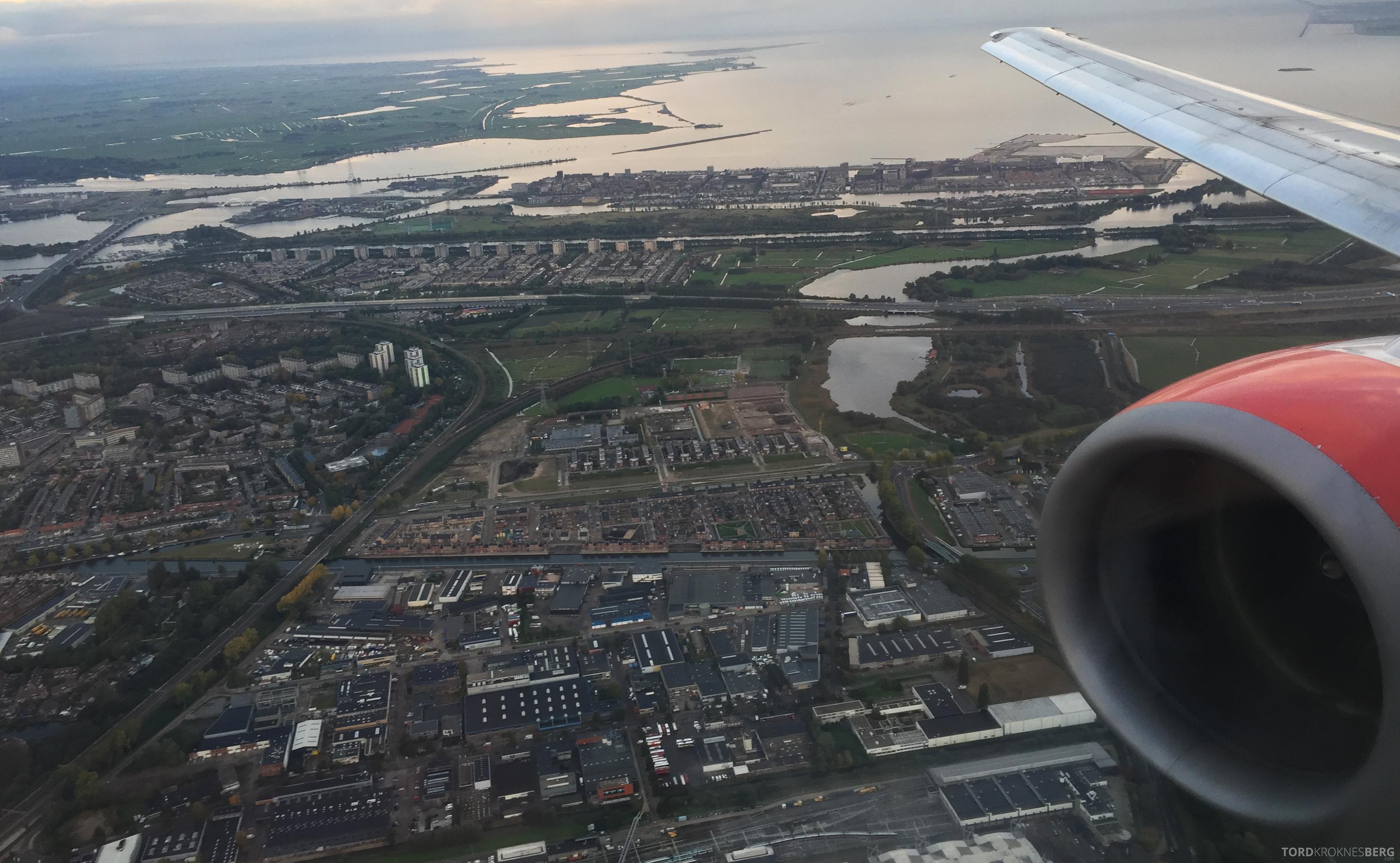 SAS Go Light Amsterdam landing